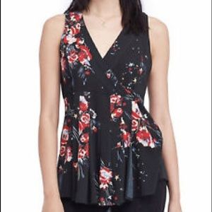 NWT Free People Floral Tunic